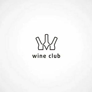 wine club红酒logo及包装
