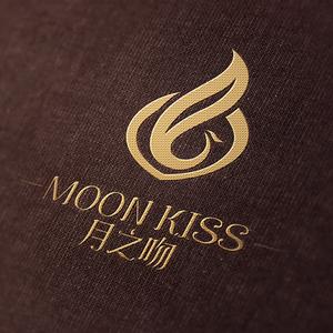 月之吻logo设计