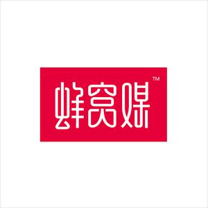 蜂窝媒logo设计