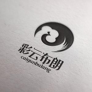 彩云布朗logo设计