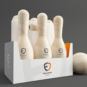 保龄球运动饮品包装设计